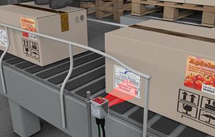 Считывание заводского артикля в складских системах и конвейерах